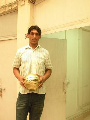 A young Satnam Singh
