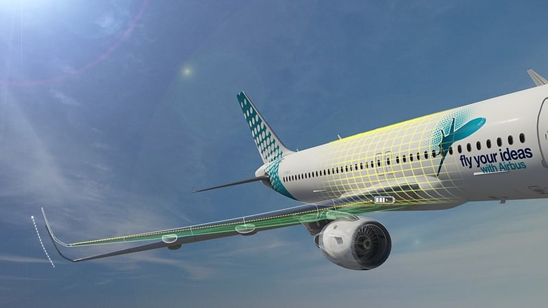 Airbus visualization of the idea
