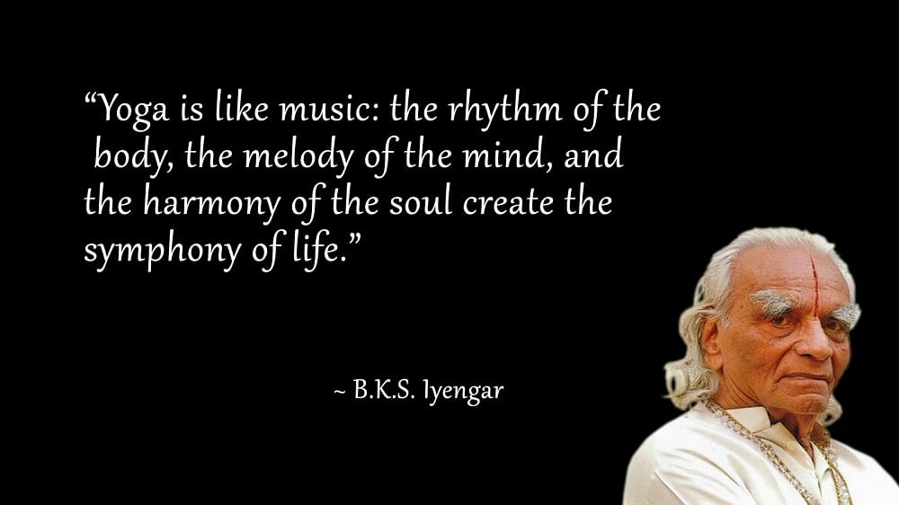 B K S Iyengar
