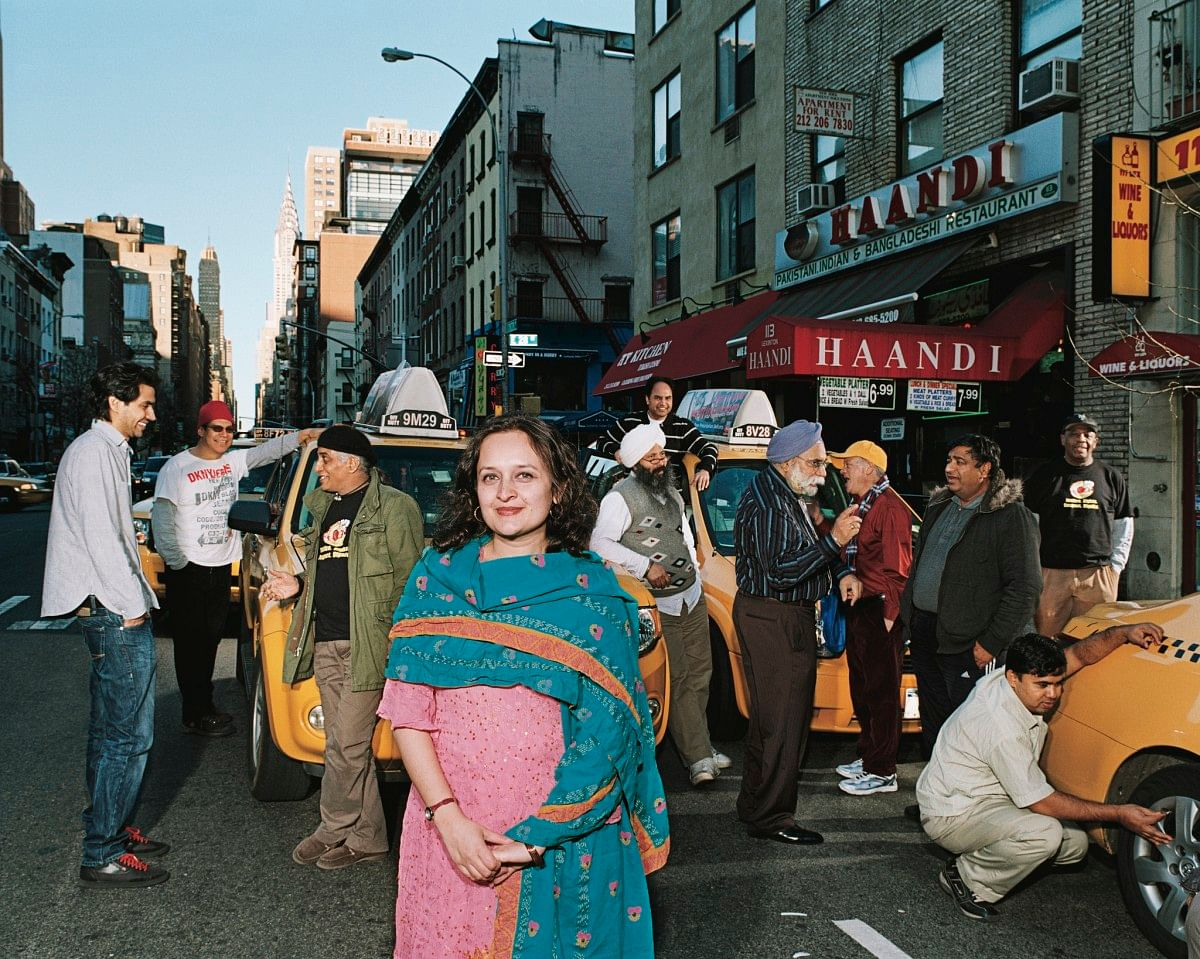 BHAIRAVI DESAI CO FOUNDER THE NEW YORK TAXI WORKERS ALLIANCE 1998 (PHOTO CREDIT MARTHA CAMARILLO -GAARTISTS (1)