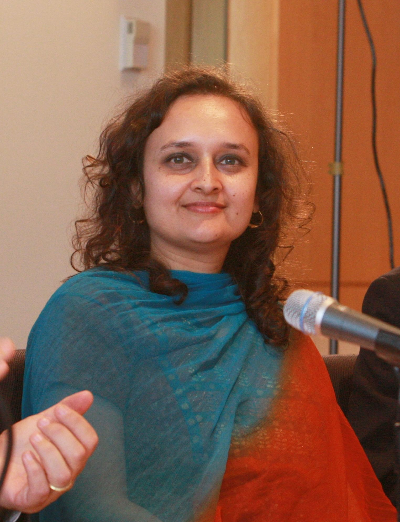 Bhairavi Desai Executive Director of the National Taxi Workers Alliance taken on October 20, 2011