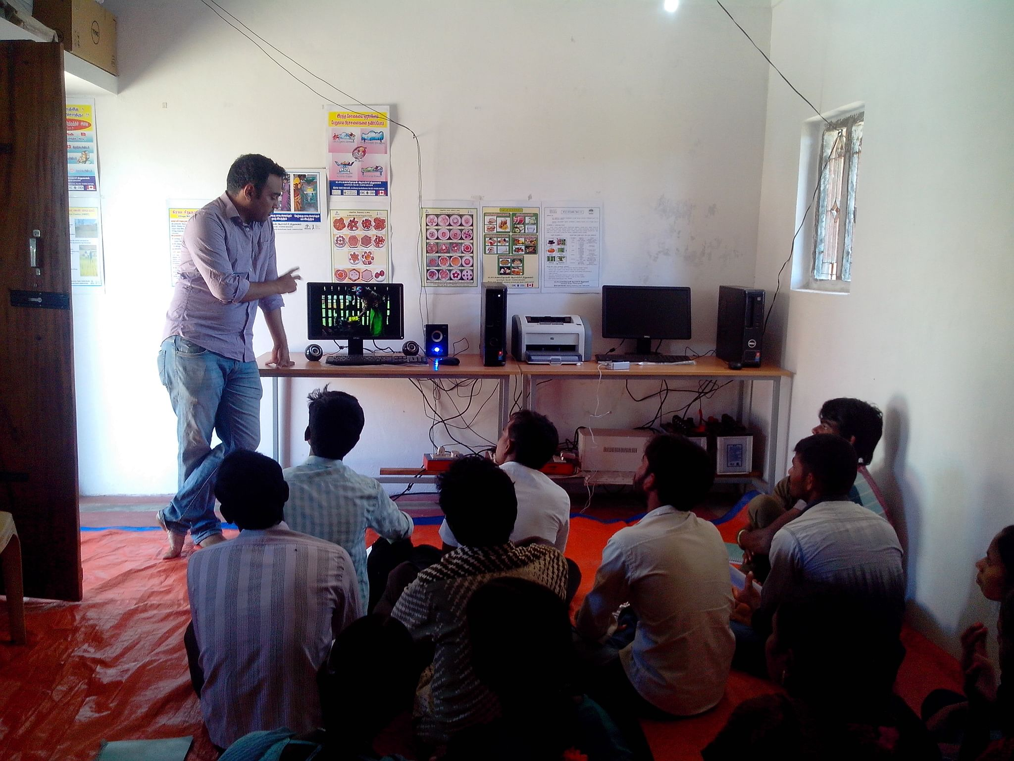 capacity building training to the villagers.