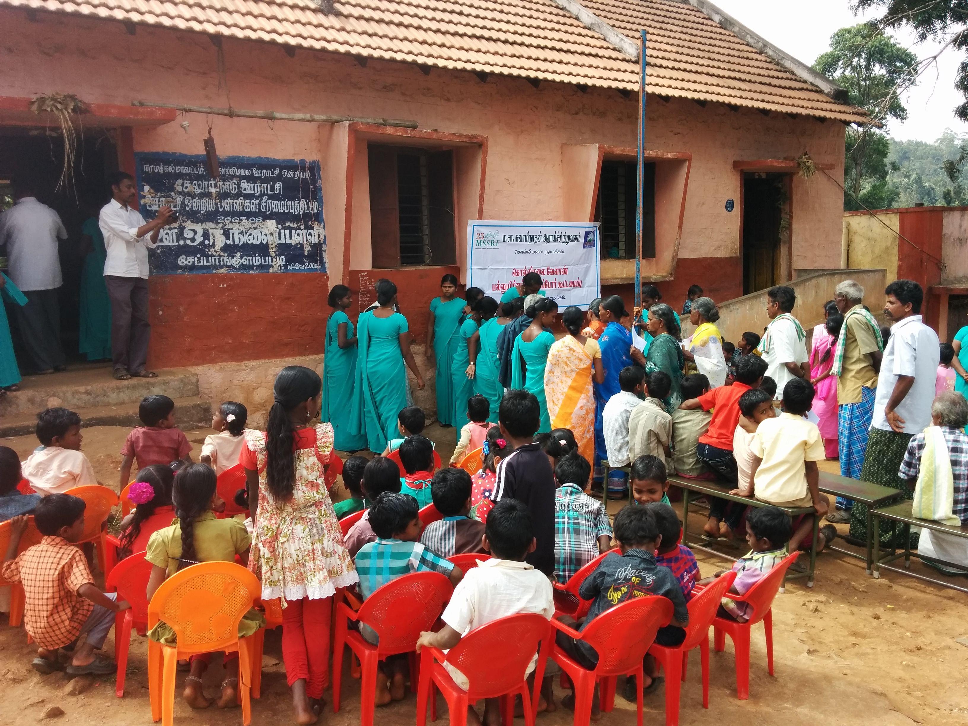 Health camp organized by Anirudh.