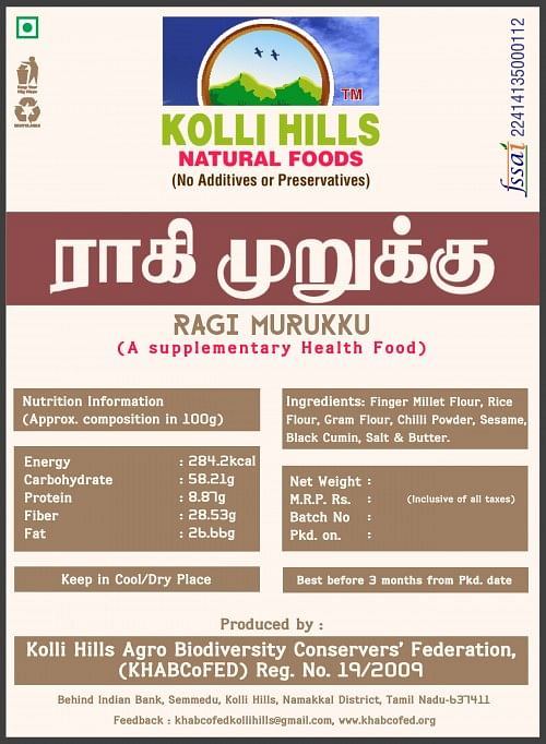 The new packagings of millets.