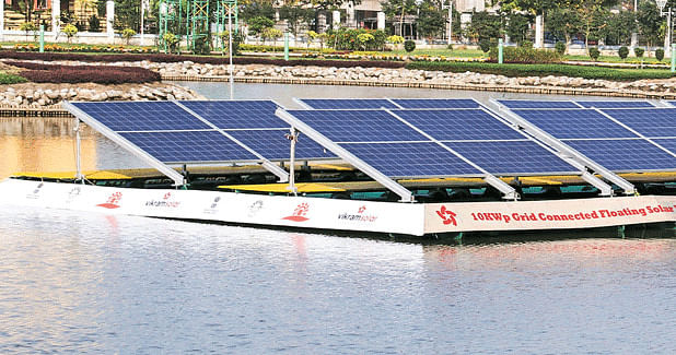 Country's Largest Floating Solar Power Plant to come up on Loktak Lake in Manipur