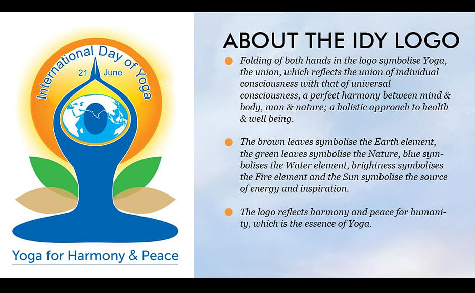 Yoga For Harmony Peace Logo The Better India