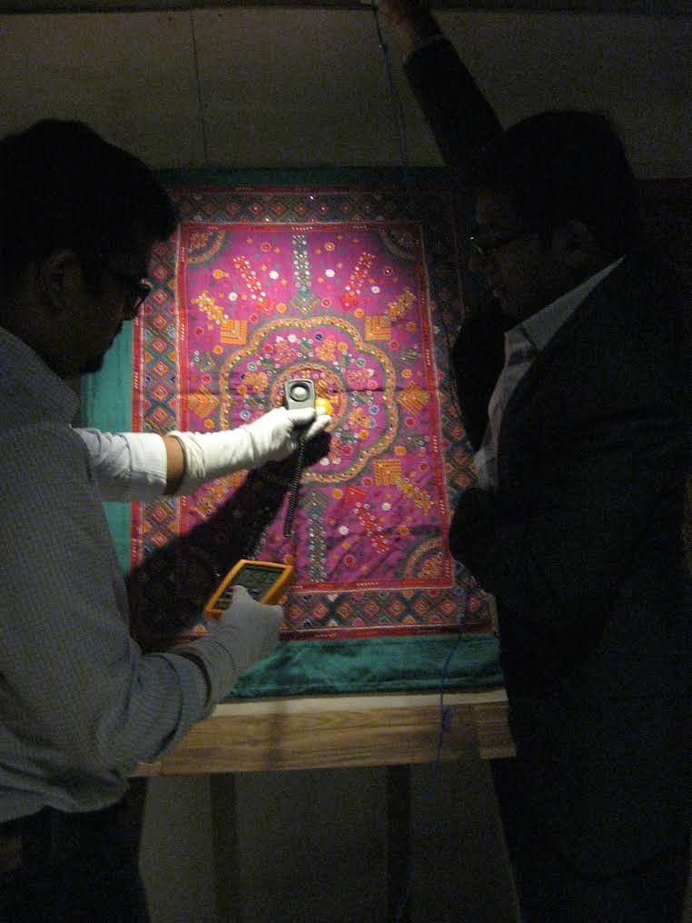 The team closely works on each museum.
