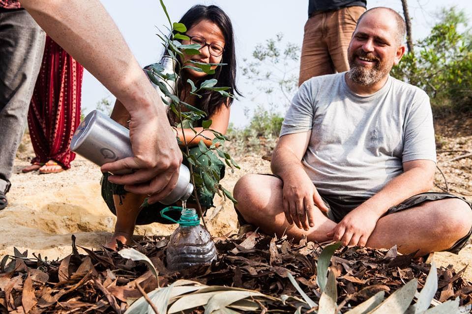 The volunteers have planted 29,000 indigenous saplings.