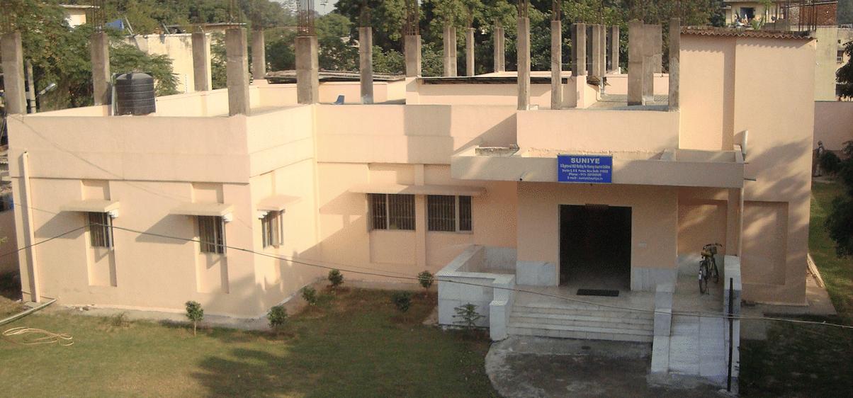 The under construction building of Suniye.