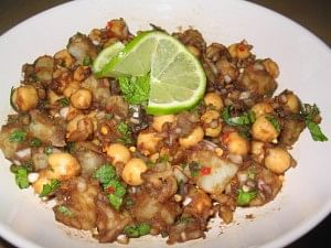 Aloo Channa Chaat