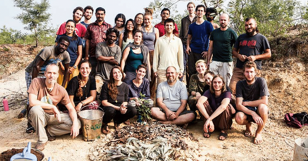 How Volunteers from 50 Countries Transformed 70 Acres of Arid Land into a Lush Forest in Puducherry - The Better India
