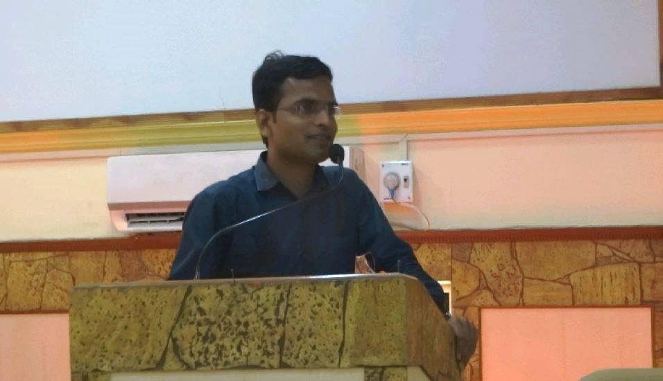 Sandip Gund, the inspiring teacher.