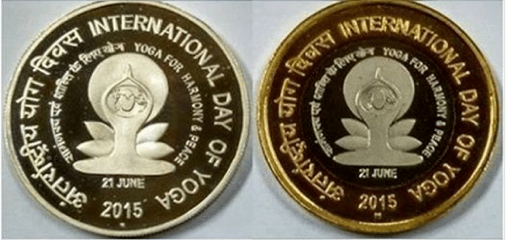 COMMEMORATAIVE COINS RELEASED ON IDY 2015