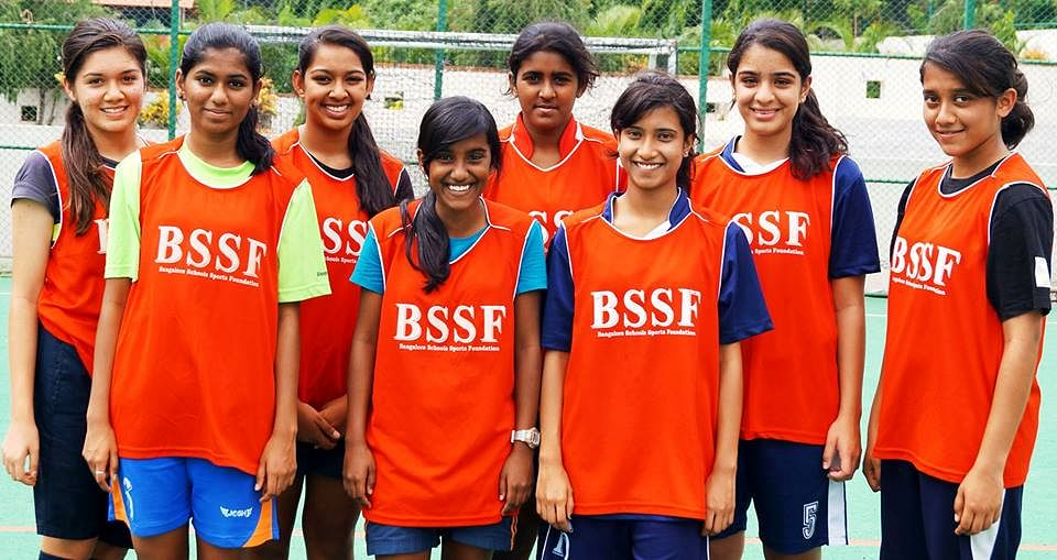 India's First Under 15 Girls Soccer team representing Bangalore City - INDIA at the 47th International Children Games - Children Olympics