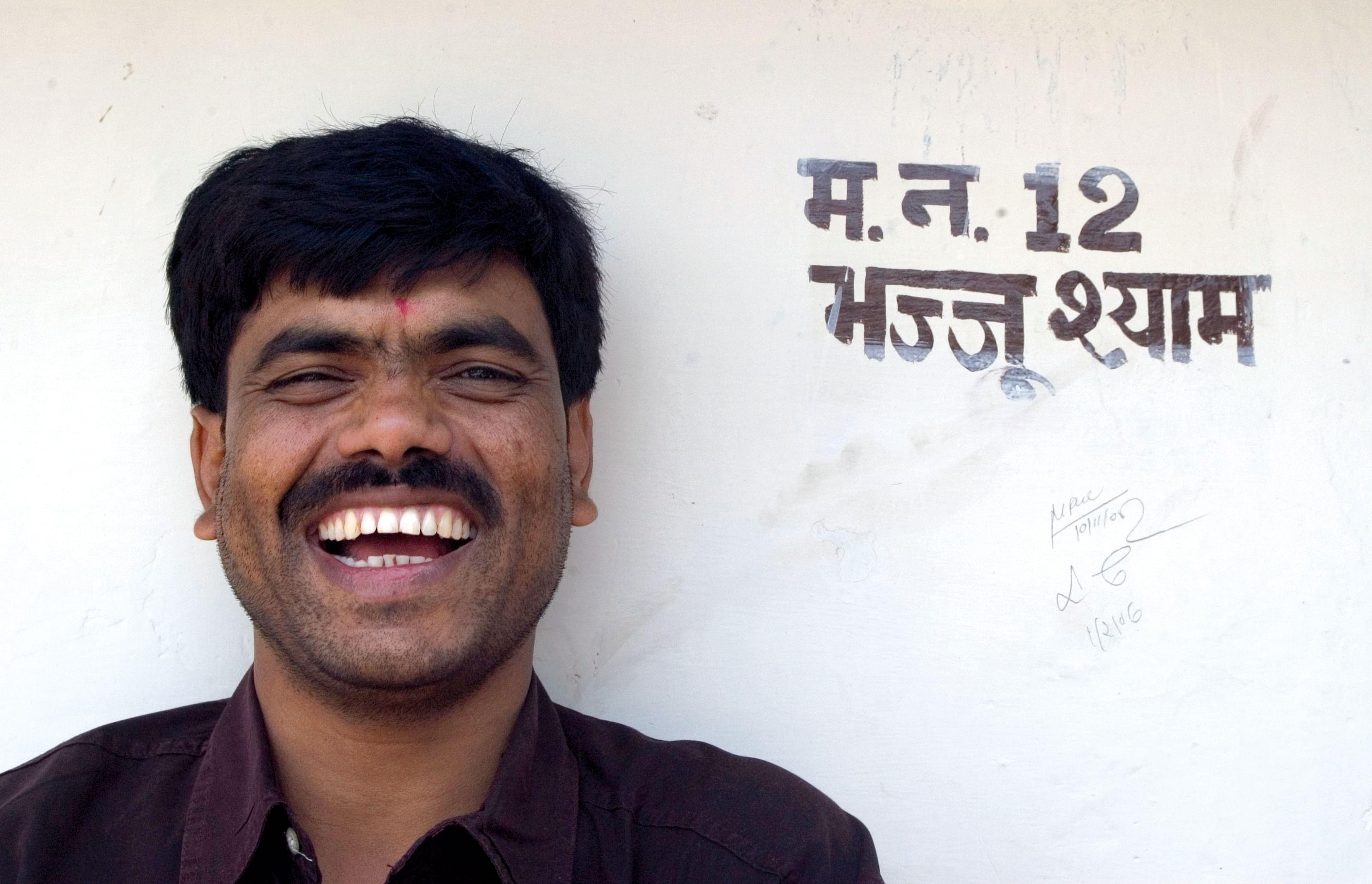 Bhajju Shyam portrait