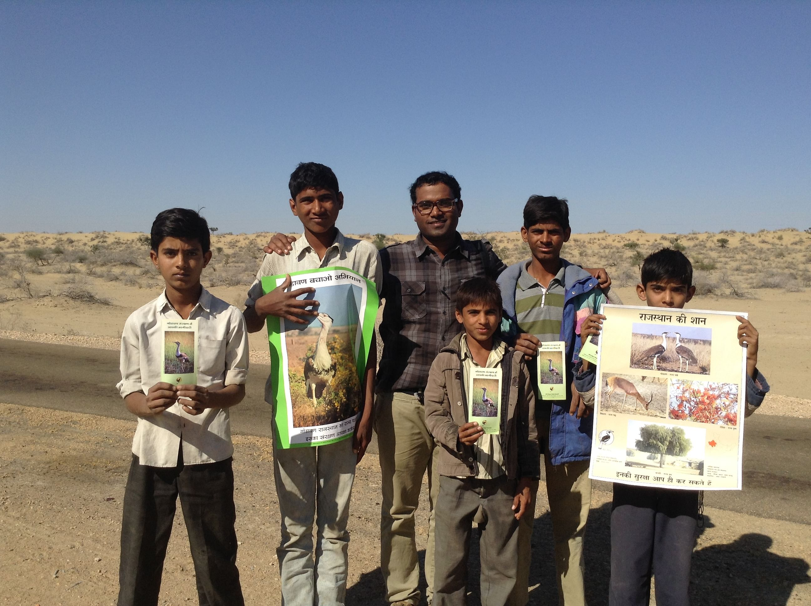 Creating awareness about conservation among local people