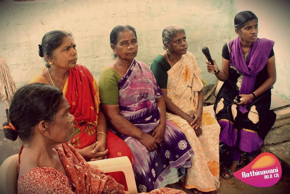 A focus group discussion with womne's group- Radio Rathinavani