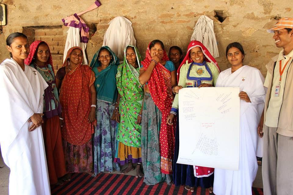 Radio Madhuban team with their community partners