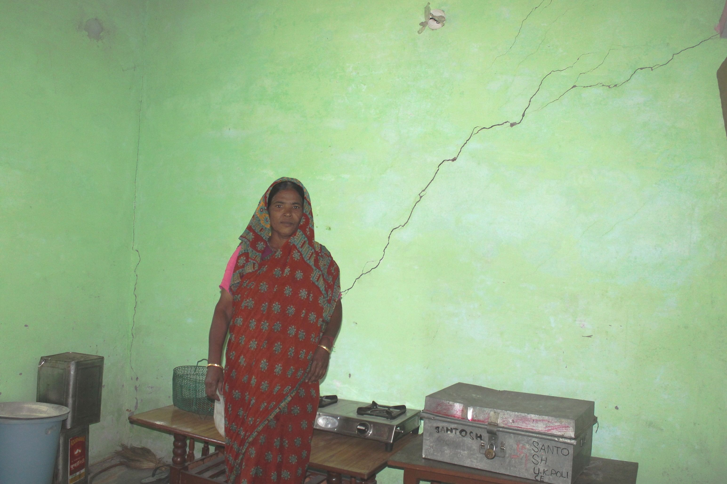 Ever since the devastating cloudburst in Uttarakhand, hill women like Gundi Devi are living under a lot of tension and pressure. 'Whatever we are facing – an untimely monsoon, unexpected snowfall, flashfloods … it is all because of our greed for 'development'. (Credit: Chetna Verma\WFS)