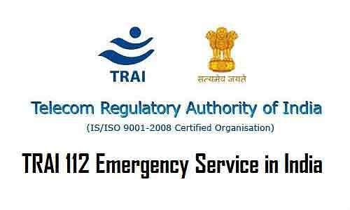 TRAI-112-Emergency-Service-Number