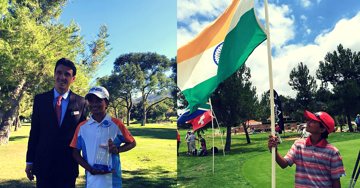 This 10-Year-Old Son of a Milkman from Haryana has Won the Junior World Golf Championship Title