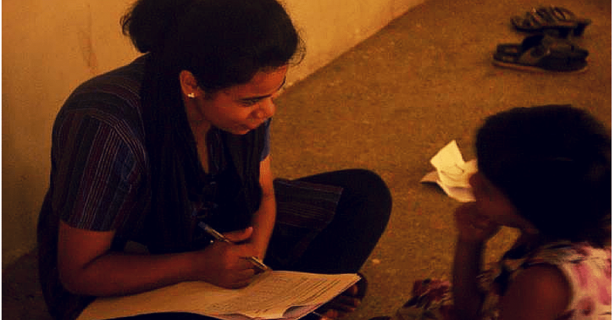 22 Year Old Angie is using her Teaching Skills to Inspire a Better Future for Hundeds of Kids