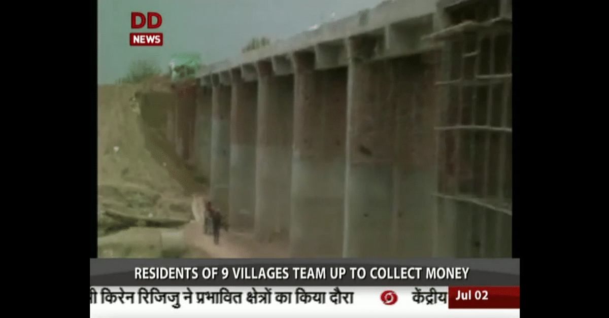 VIDEO: How Haryana Villagers Built a Bridge Worth Rs. 1 Crore without Government Aid