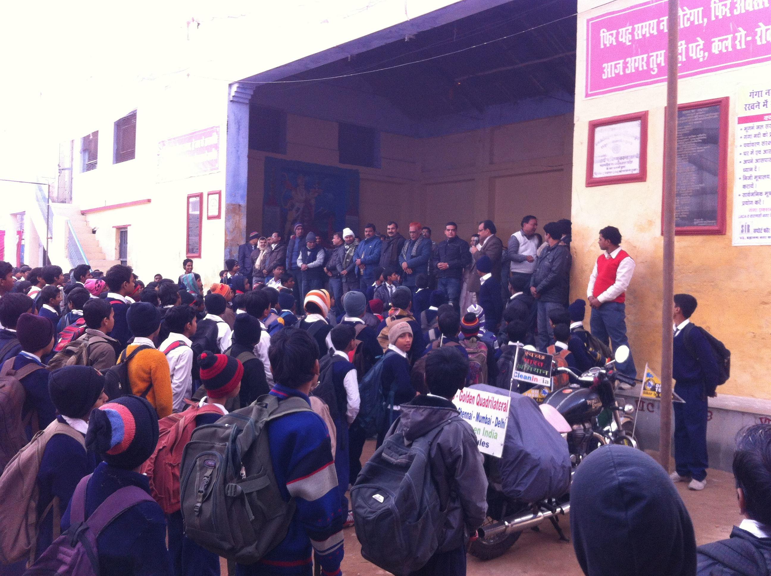 Varanasi School Session 2