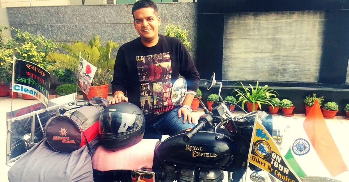 MY STORY: I Rode 6404 kms Across the Golden Quadrilateral for a Cause I Believed In