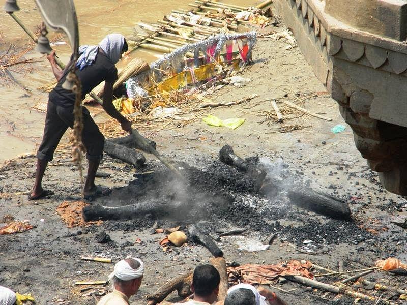Job 18, Cremation Assistant, Uttar Pradesh.