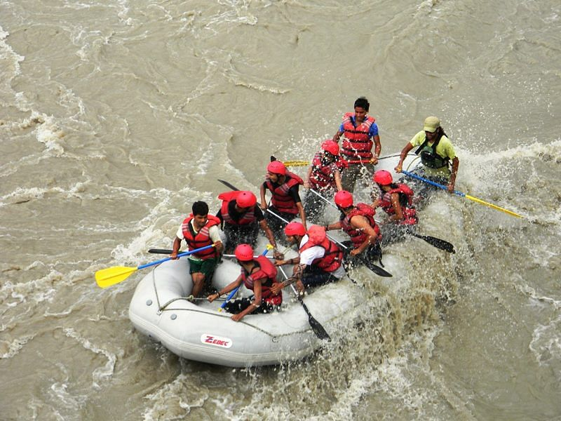 Job 6, Rafting Trainee, Jammu & Kashmir.