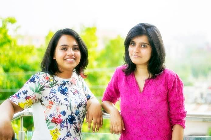 Kalyani (right) was just 21 when she first started the initiative.