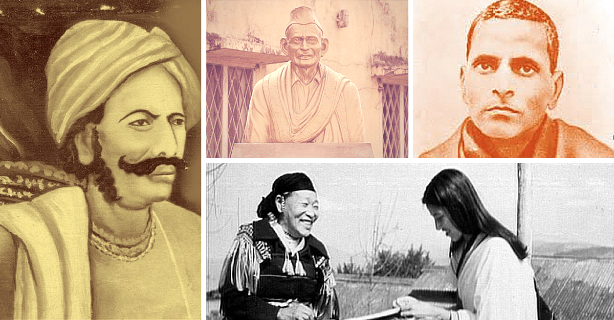 10 Names from the Indian Freedom Struggle that you Might not have ...