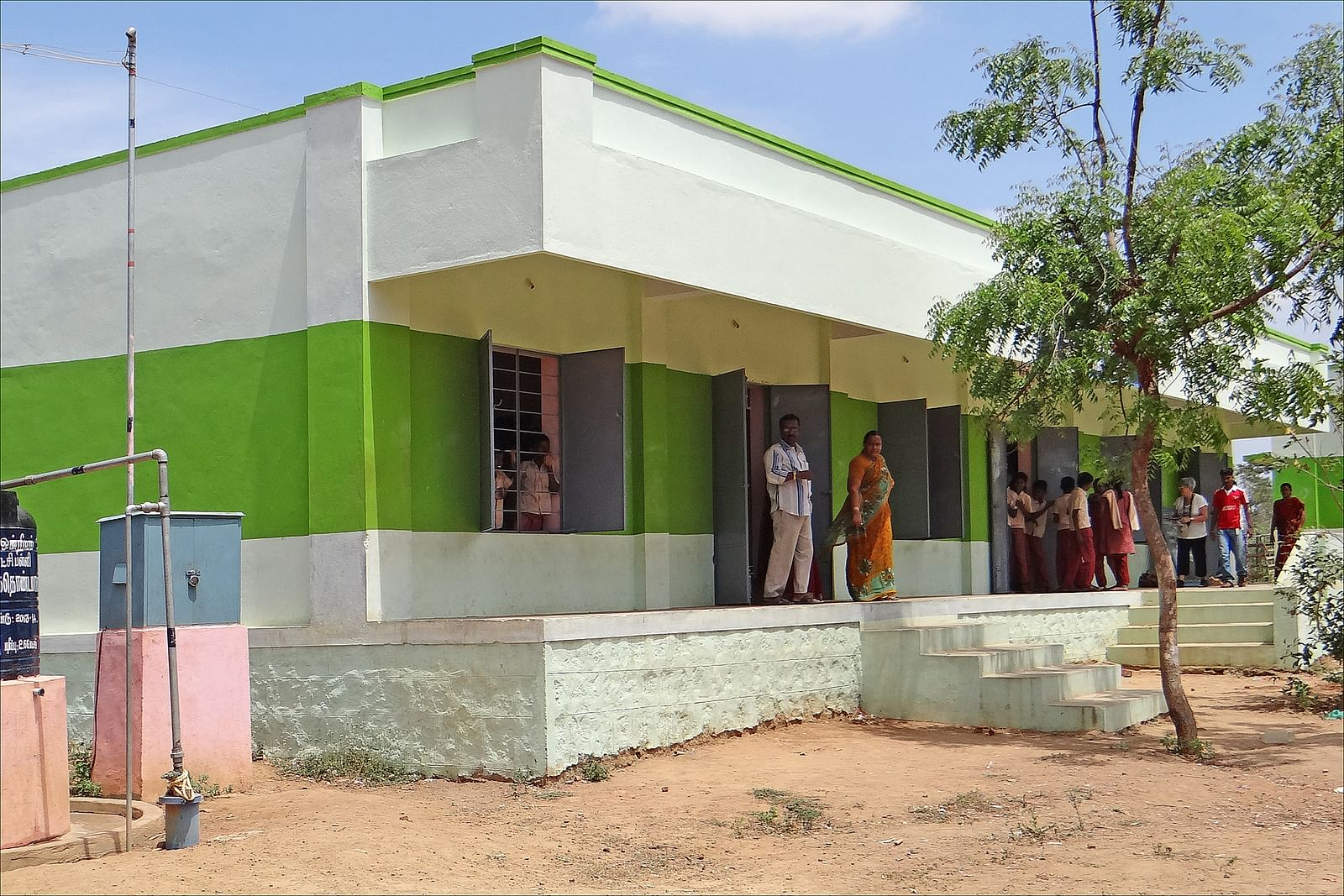 21 Construction Workers Built a School in Punjab  And the School Did