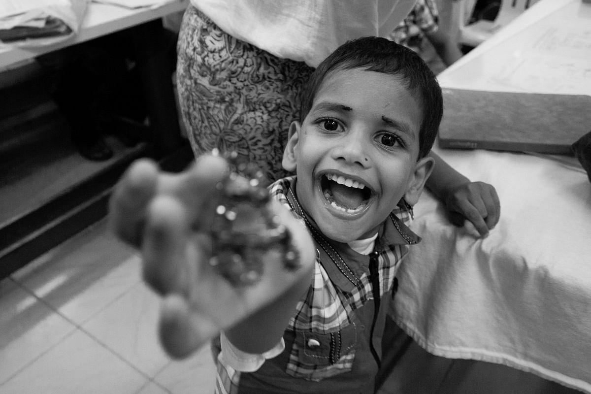 5-year-old Arif