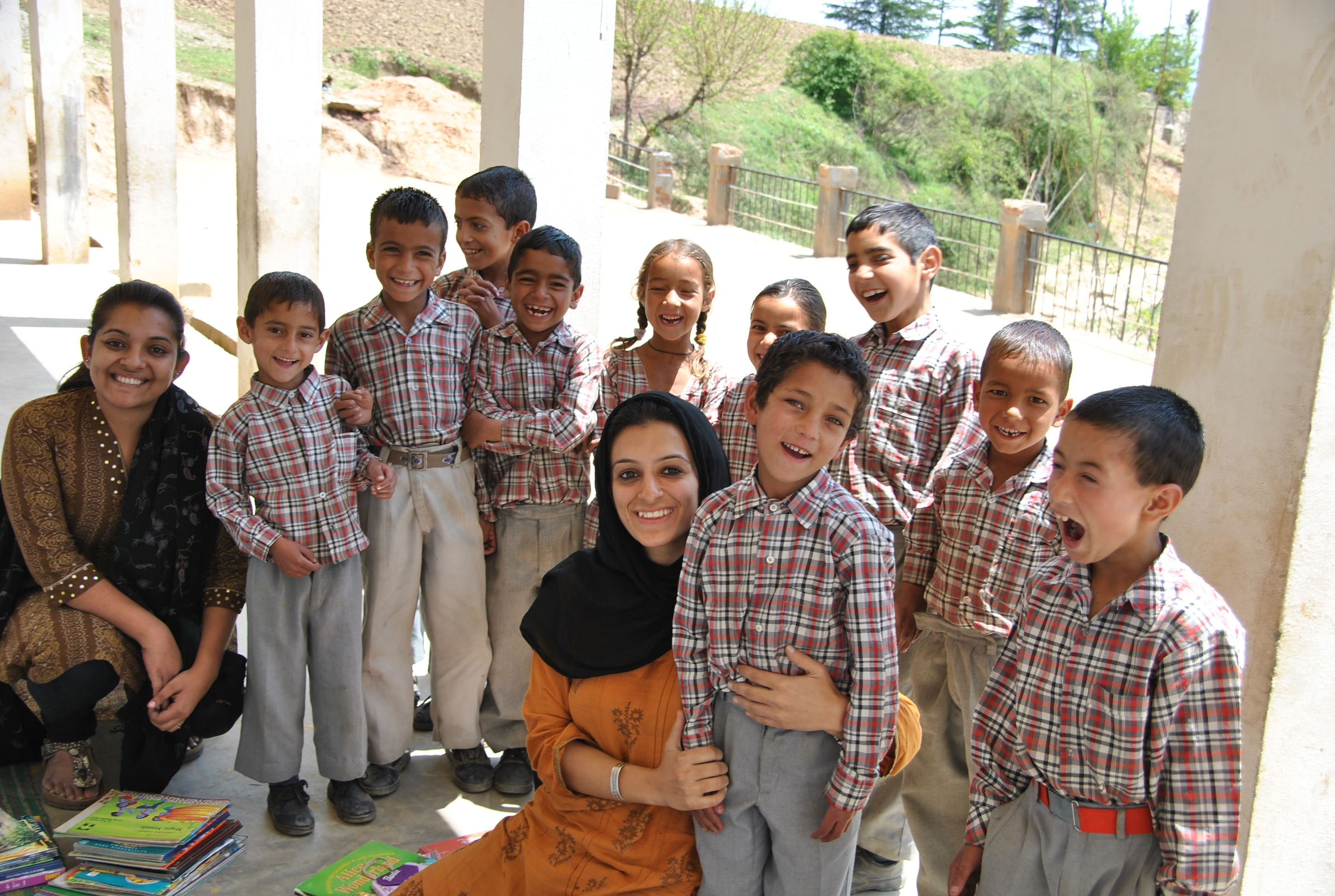 Sabbah Haji with the kids