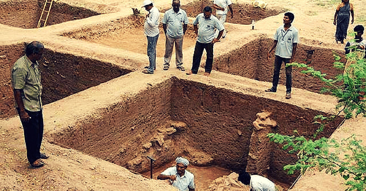 Archaeologists at ASI Just Unearthed a 2500 Years Old Human Settlement. And It's Redefining History!
