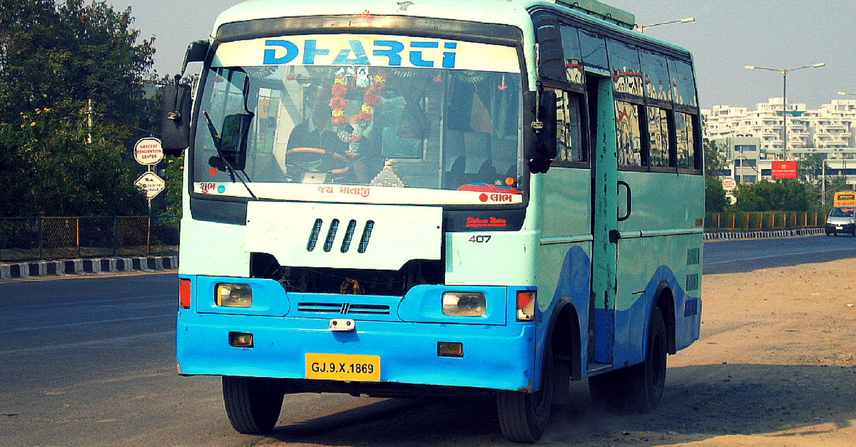 GPS Equipped Gujarat Buses Will Give Real Time Updates to Passengers