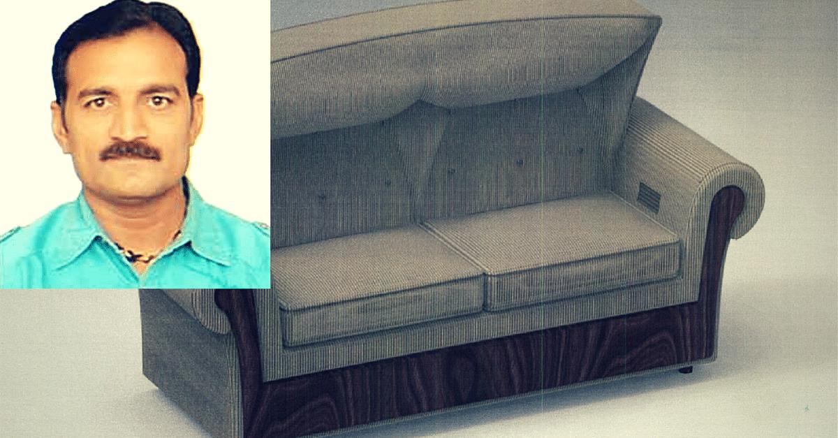 Gujarat Mechanic Invents AC Sofa that Brings Temperature Down in Just 1 Minute