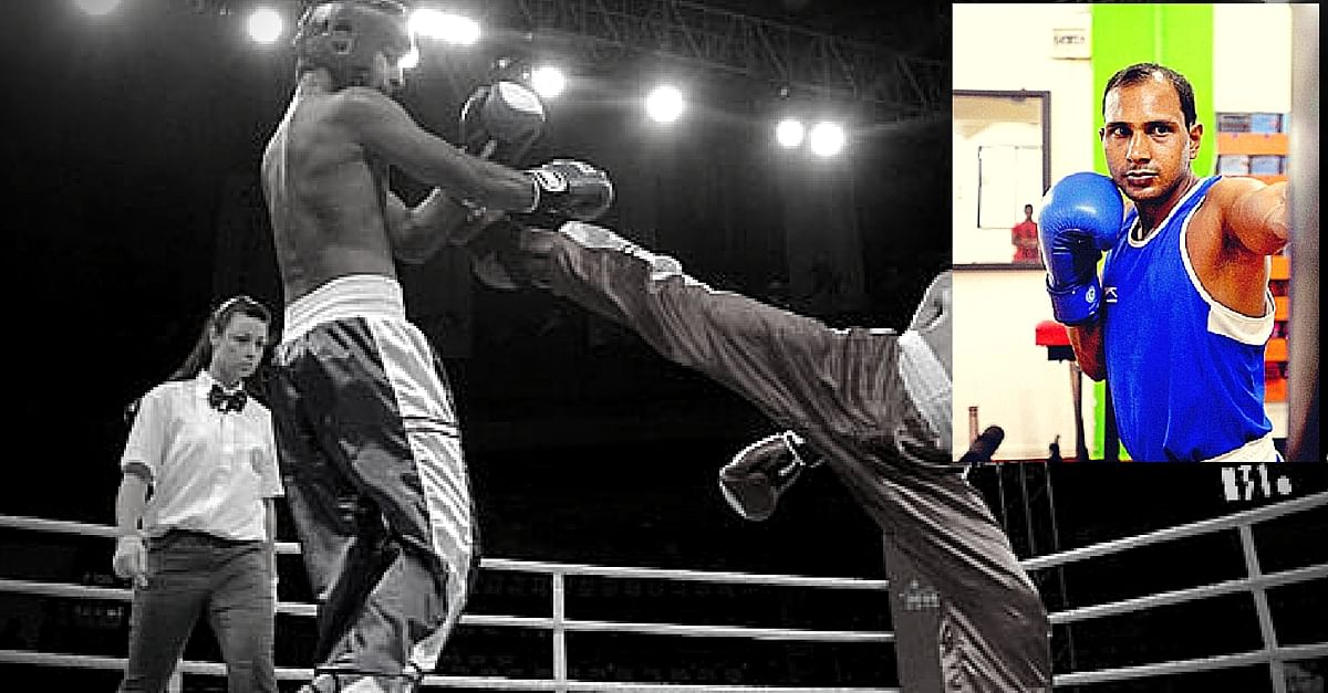 No Coach. No Training Space. Yet This 19-Year-Old Scrap Dealer Made It to the Kickboxing Nationals