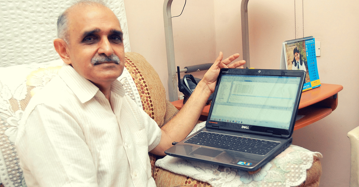 This 66 Year Old Is on a Mission. He Won't Rest till All Electoral Rolls in India Are Error-Free!