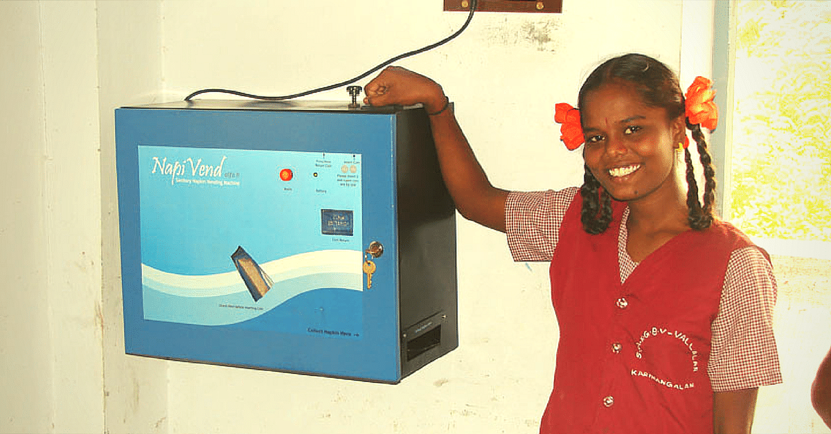 UP College Leads the Way by Installing State's First Sanitary Pad Vending Machine