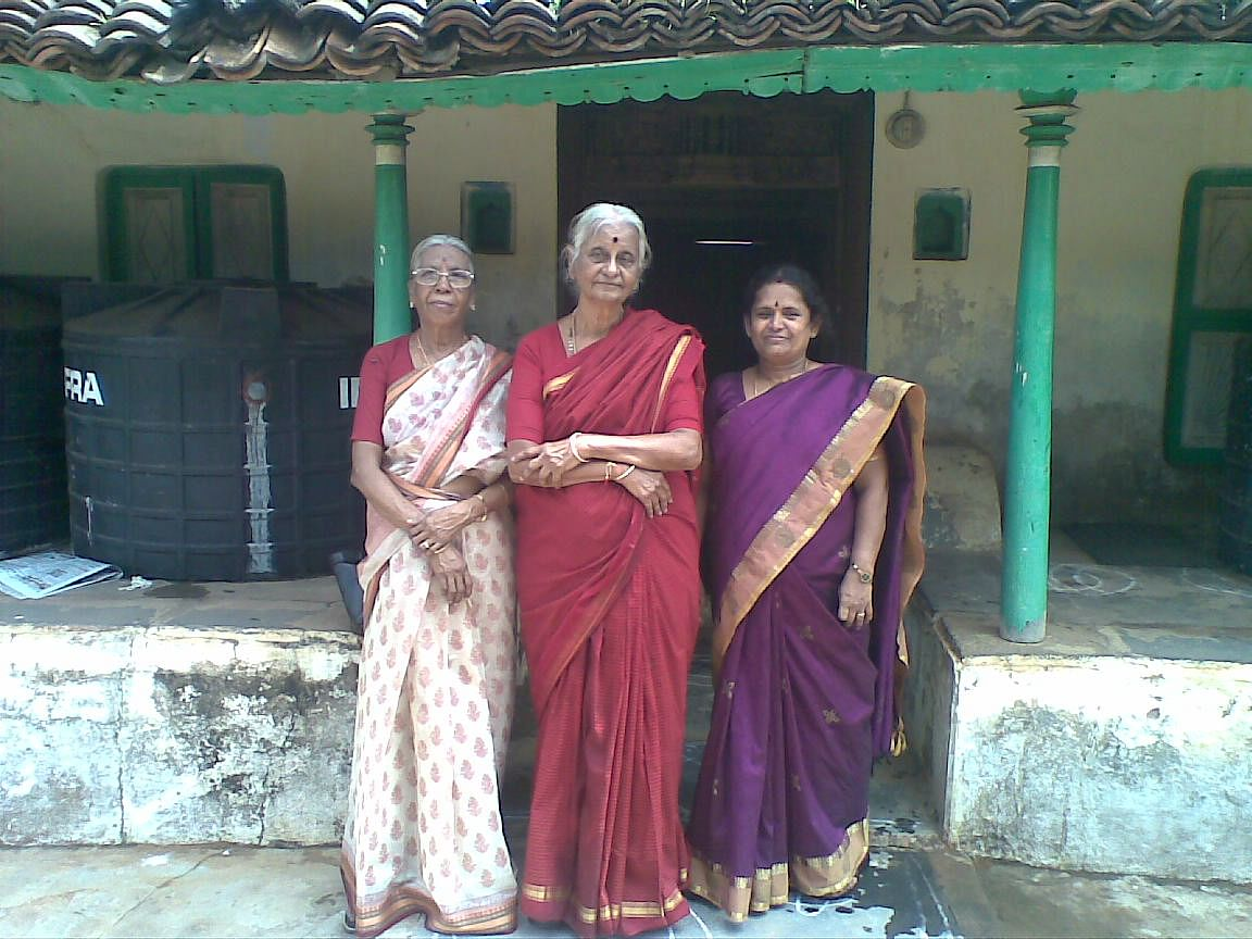 Savithri takes care of all the needs of the women at Vishranthi.