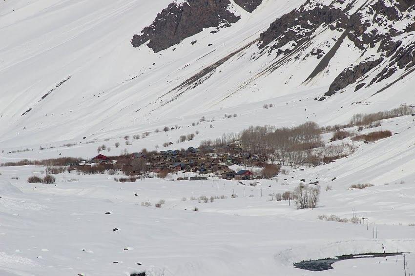 Mushko, Kargil in November, isolated from the rest of the world