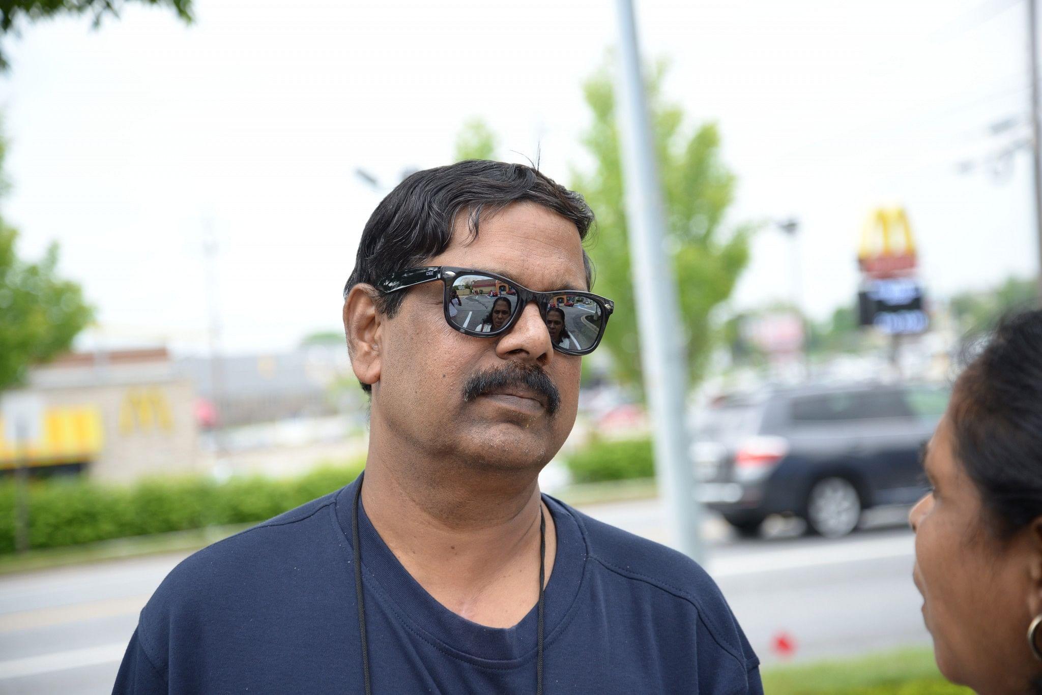 Krishnakumar, founder of CAI