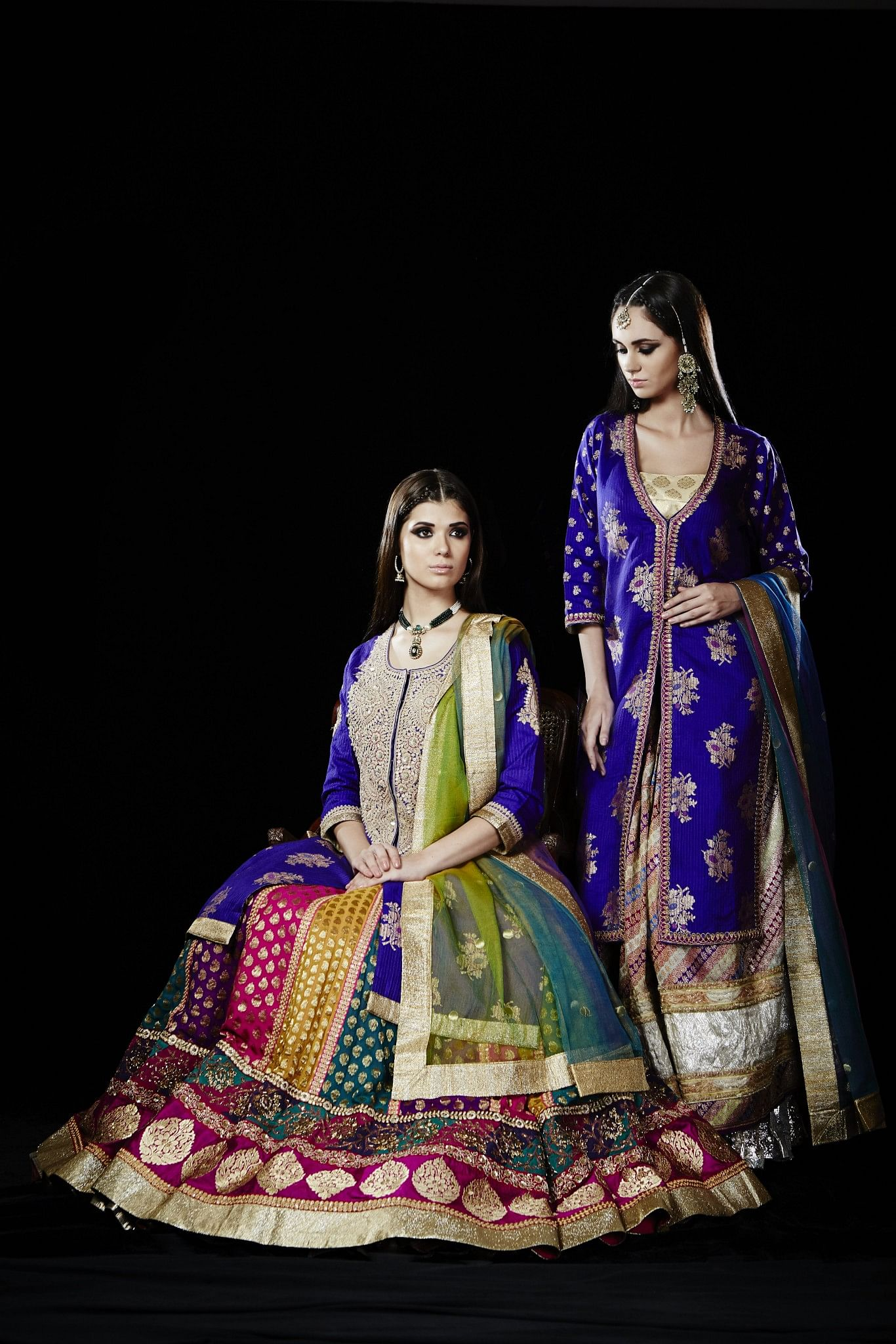 Many of India's best known designers have stepped in to identify and restore forgotten motifs, source exquisite handspun silk and establish a marketing chain that will put the Banarasi legacy on the fashion map of the world. (Courtesy: Ritu Kumar)