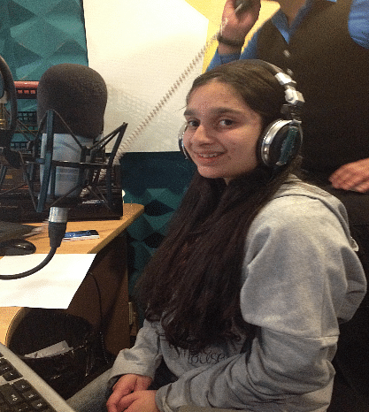 Muskan's radio show had thousands of listeners.