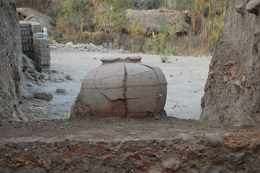 Storage Vessel found at Chandankheda