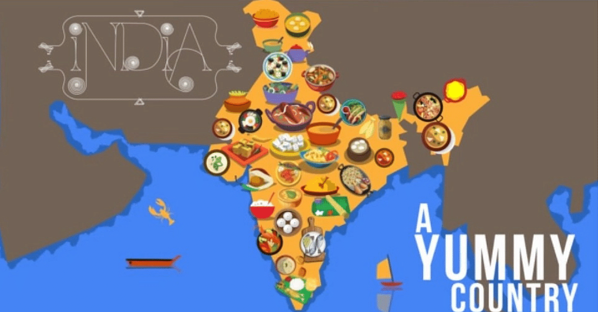 Video This Is What Happens When You Let A Foodie Create A Map Of