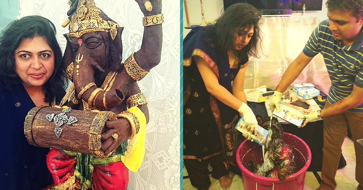 She Made a 35 Kg Chocolate Ganesha & Distributed It to Poor Kids. But That's Not All She's Done.